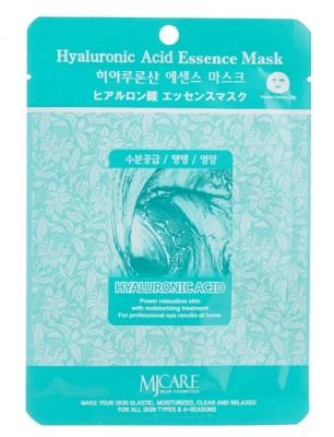 Маска тканевая гиалуроновая кислота Mijin Hyaluronic Acid Essence Mask 23гр: фото