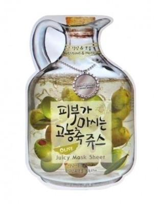 Маска тканевая с оливой Baviphat Olive Juicy Mask Sheet nutrition & Moisturizing 23г: фото