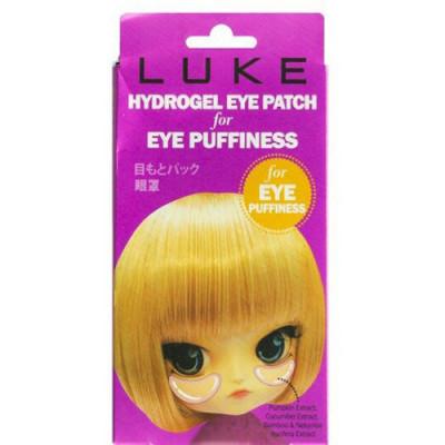 Гидрогелевые патчи для кожи вокруг глаз от припухлостей, с экстрактами огурца и бамбука 4Skin LUKE 5пар: фото