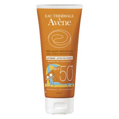 Солнцезащитное Детское молочко SPF 50+ Avene, Suncare, 250 мл: фото