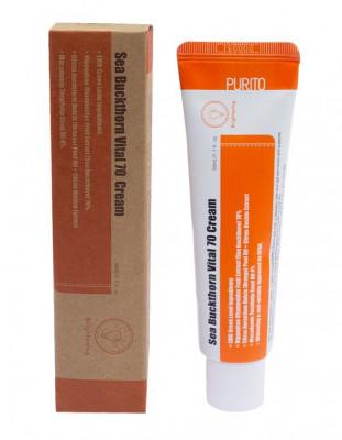 Крем витаминный с экстрактом облепихи PURITO Sea Buckthorn Vital 70 Cream 50мл: фото