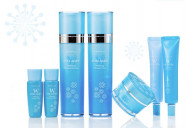 Набор для лица уходовый Enough W Collagen whitening premium skin care 5 set 130мл*2+ 50гр+30мл*2: фото