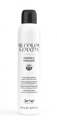 Лосьон для восстановления сухих, пористых и поврежденных волос с кератином и азотом Be Hair Be Color Nitrogenated Keratin 150мл: фото