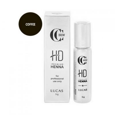 Хна для бровей CC Brow Premium henna HD Coffee 5 г: фото