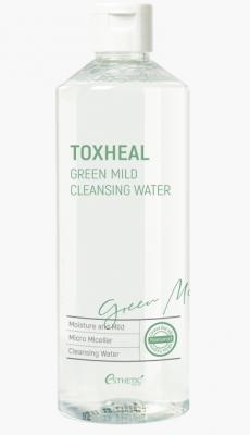 Жидкость для снятия макияжа ESTHETIC HOUSE TOXHEAL Green Mild Cleansing Water 530 мл: фото