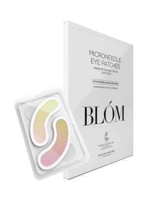 Микроигольные патчи для увлажнения и разглаживания против эффекта «печеного яблока» BLÓM Skin Plumper 2 шт: фото