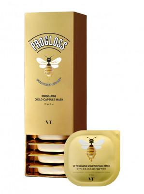 Капсульная маска с мёдом VT PROGLOSS CAPSULE MASK 7,5г*10шт: фото