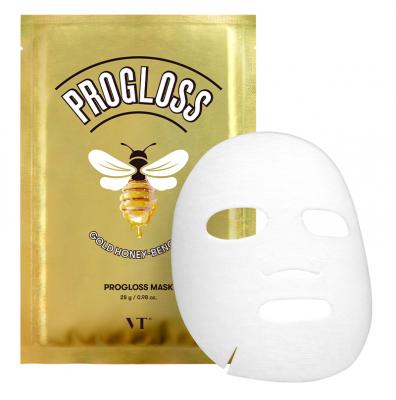 Маска тканевая с мёдом VT PROGLOSS MASK 28г: фото