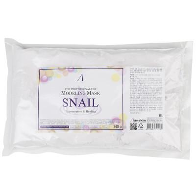 Маска альгинатная с муцином улитки Anskin Snail Modeling Mask 240г: фото