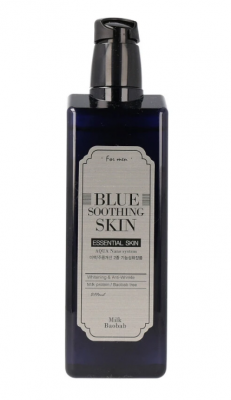 Тонер мужской Milk Baobab Blue Soothing Skin For Men 200мл: фото