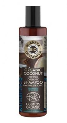 Шампунь для волос кокосовый Planeta Organica Organic coconut 280мл: фото