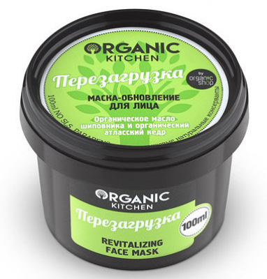 Маска-обновление для лица Organic Kitchen